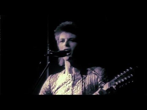 David Bowie Lady Stardust live 1972 rare footage 2017 edit
