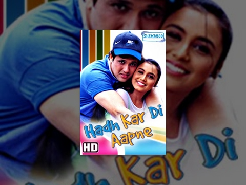 Xxx Mp4 Hadh Kar Di Aapne HD Hindi Full Movie Govinda Rani Mukerji Johnny Lever With Eng Subtitles 3gp Sex
