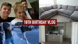 MY 18TH BIRTHDAY/MOVING INTO MY APARTMENT! | Mel Joy Vlogs