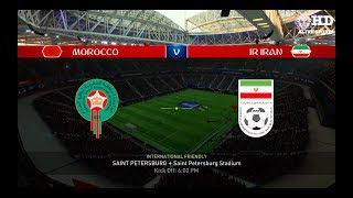 FIFA 18 World Cup - Morocco V Iran Gameplay [PS4]