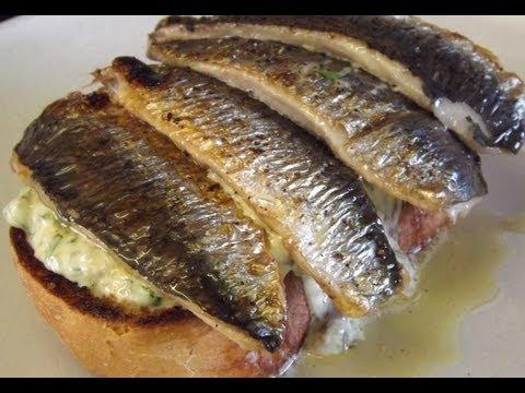 How To Prepare And Cook Sardines.Cornish Sardines.