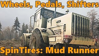 SpinTires Mud Runner: All Supported Steering Wheels, Shifters, and Controllers