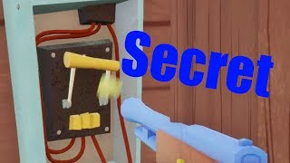 Hello Neighbor Secret Wall Switch