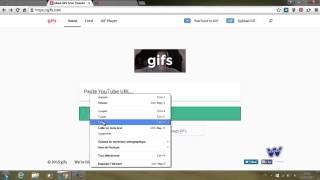 GIFطريقة تحويل أي مقطع فيديو دون برامج  الى صور