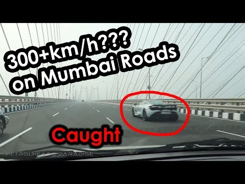 Xxx Mp4 Supercar Full Speeding On Mumbai Sealink Caught Mclaren 720s Supercars Of Mumbai India 2017 3gp Sex