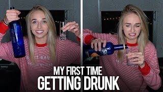 MY FIRST TIME GETTING DRUNK
