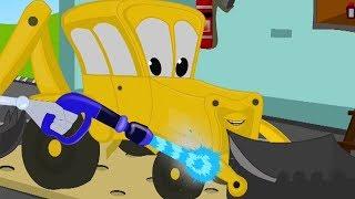 Crazy Construction Truck Wash Digger - Trucks and Car Wash - Construction Vehicles at Work