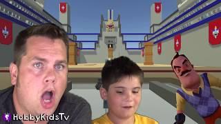 ROBOT BRAINS! Clone Drone In The Danger Zone + Robot Kids Family Gaming HobbyKidsTV