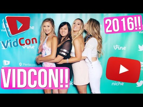 VIDCON 2016 VLOG!!! FEATURED CREATOR EDITION!!