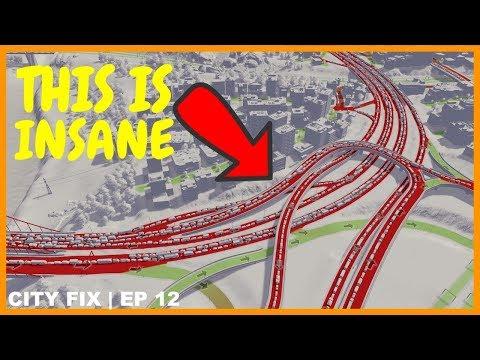 Xxx Mp4 Fixing The Longest Traffic Jam Ever CITY FIX Cities Skylines 3gp Sex