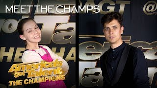 Alexa Lauenburger and Ben Hart Want To Perform For The World! - America's Got Talent: The Champions
