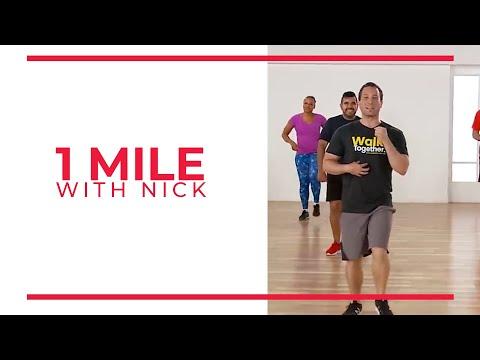 Walk At Home Walk 15 Nick 1 Mile Walking Exercise