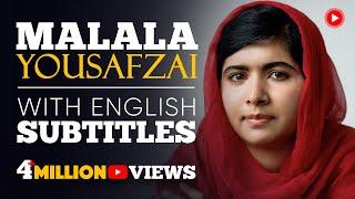 ENGLISH SPEECH | MALALA YOUSAFZAI - Nobel Peace Prize (English Subtitles)