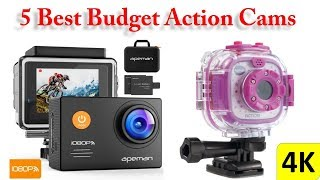 5 Best Budget Action Cams || Best Action Cams 2018 ||