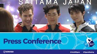 ISU World Figure Skating Championships 2019, Press Conference: Men Short Program