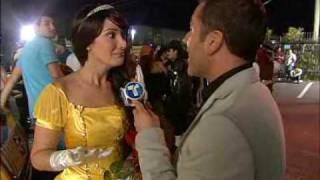 Karla Monroig fiesta halloween