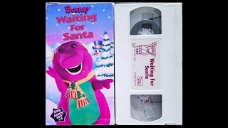 Opening and Closing to Barney- Waiting for Santa 1995 VHS