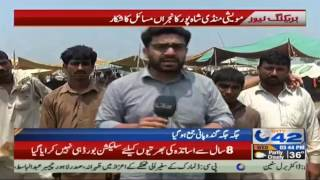 Possible issues of Cattle market Shahpur Kanjaran