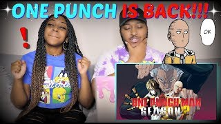 One-Punch Man Season 2 Special Announcement Trailer REACTION!!!