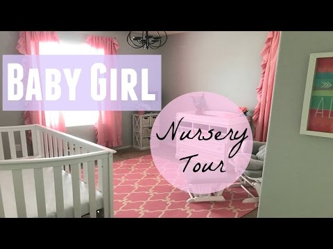 Xxx Mp4 21 Weeks Pregnant BABY GIRL NURSERY TOUR 3gp Sex