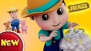 johny johny yes papa nursery rhyme for kids | kids songs | baby rhymes by Farmees S02E126