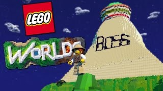 THE BOSS PYRAMID | Lego Worlds #1