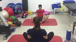 Lee Chong wei training