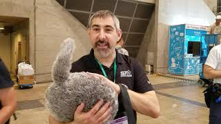 The Trouble with Tribbles, at CEATEC Japan