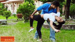 Sustari Sustari Love Song | Nepali Official Movie REFUGEE | Jivan Luitel, Rista Basnet