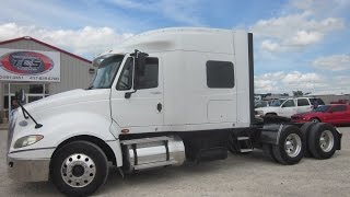 2009 International Prostar Conventional W/ Sleeper Truck