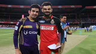 IPL 2017: Super Sunday! Kohli and Gambhir up against each other