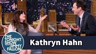 Kathryn Hahn and Jimmy Reminisce About Their Old NYC Neighborhood