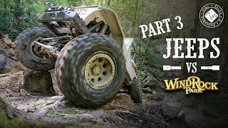 Jeeps vs Windrock Park | Carnage on Rail Trail - Part 3