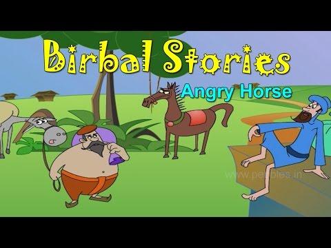 Krodhi Ghodoo | Birbal Gujarati Stories for Kids | Akbar & Birbal Gujarati Varta