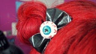 DIY: Eyeball Bow