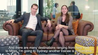 ING Banktalk - Finance Traineeship (subtitled)