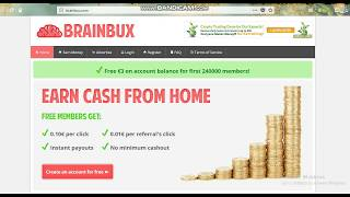 The best Earning site | BrainBux | Easy way | How to Earn