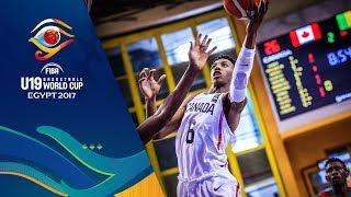 Canada v Mali - Live - FIBA U19 Basketball World Cup 2017