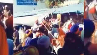 When Ignorant,radical Punjab Police Try To Control Sikhs Hola Mohala