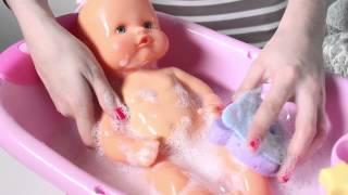 Baby Doll Bathtime Nenuco Baby Girl Change Diaper How to Bath a Baby Toy Videos youtube original