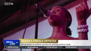 Ghana's Black Girls Glow group seeks to empower women musicians