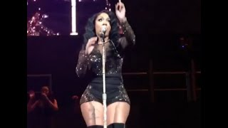K. Michelle Gets Down At Christmas In Brooklyn Concert