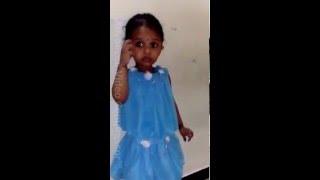 Chand Matla | Sung by 2 years old angel Shravya | Laal Ishq Marathi Movie