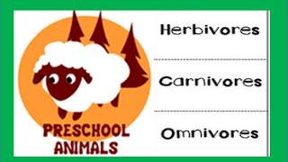 Herbivore Carnivore Omnivore Kindergarten,Preschool & Junior  Kids