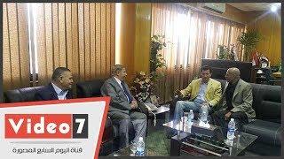 وصول الدكتور أشرف صبحى وزير الشباب والرياضة للإسماعيلية