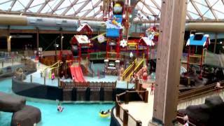 Indoor water park Massanutten Va -  a variety of views