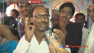 Brahmotsavam Crazy Fan Reaction | Look Black T Shirt Guy Reaction |#TopTeluguMedia