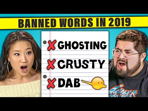 12 Words That Should Be Banned in 2019 The 10s React