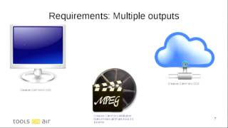 Creating an open and distributed video broadcast production environment using GStreamer