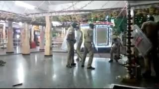 Police arajkam in Koottalumoodu temple may2016